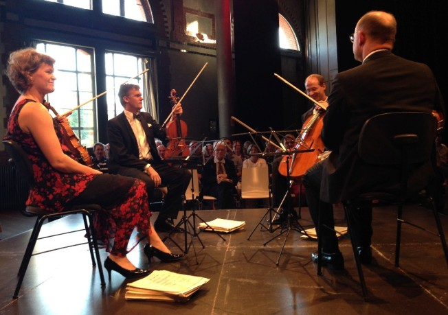 Das Mandelring-Quartett
