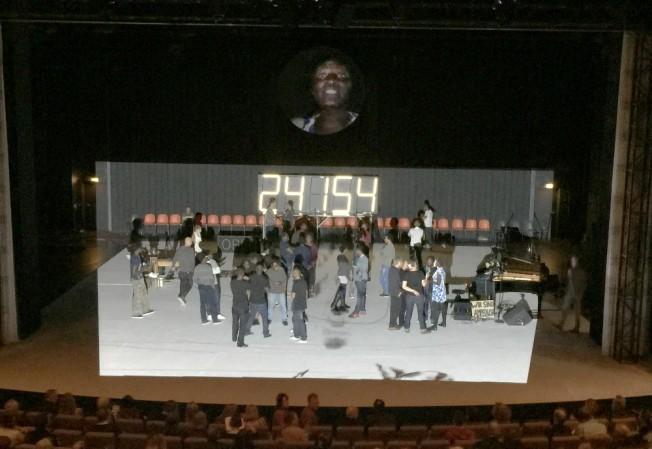 Eröffnung des Theatertreffens 2015: Die Schutzbefohlenen  von Elfriede Jelinek (Thalia Theater)